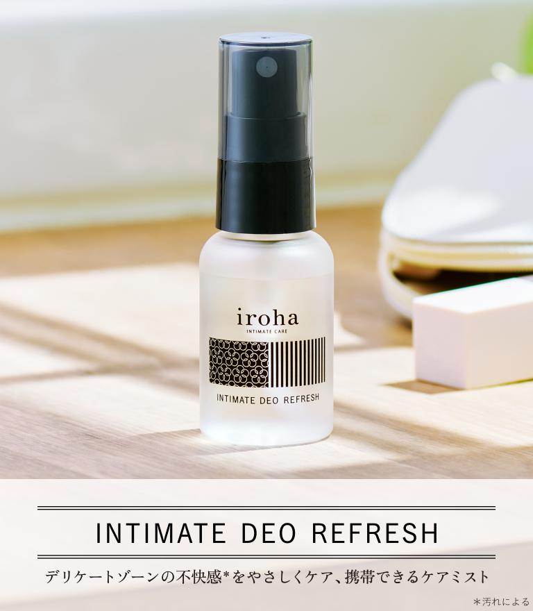 iroha INTIMATE DEO REFRESH